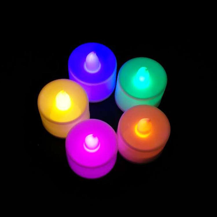 NAHE Bóng đèn nến Led cầu hôn lãng mạn cầu hôn nến trắng không khói an ninh điện tử nến sáng tạo quà
