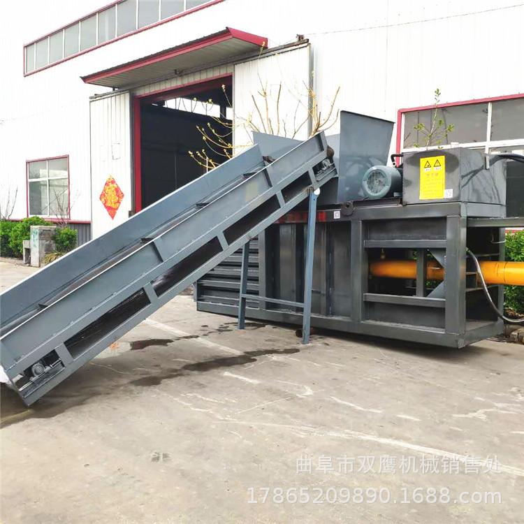 SHUANGYING Nhựa phế liệu Jiangxi 80 tấn máy ép ngang giá chất thải chai nhựa thủy lực baler nhôm hợp