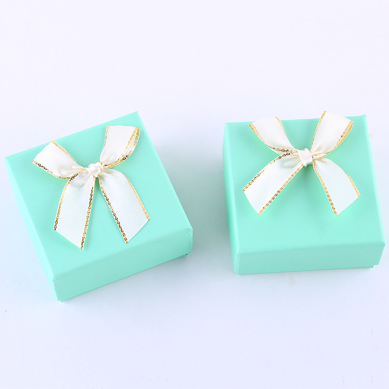 TAOLUE hộp giấy âm dương Spot hộp màu thế giới trang sức bông tai hộp đồ trang sức hộp quà tặng vuôn