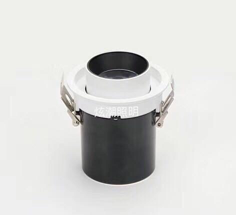 vỏ chụp đèn trần Bộ đèn LED kéo dài bộ phụ kiện đèn downlight phụ kiện đèn nền COB