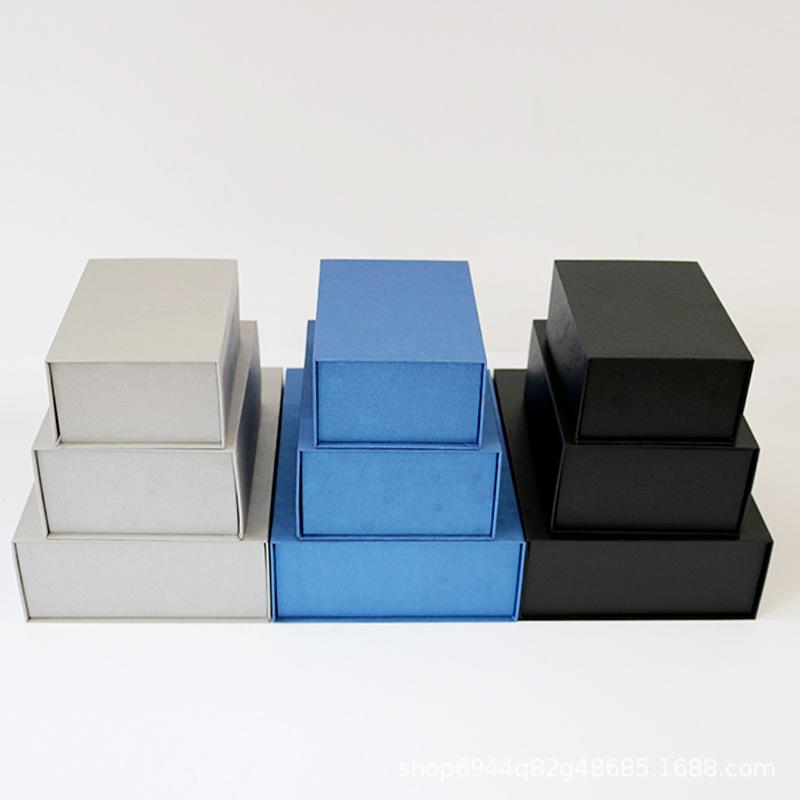 hộp giấy âm dương Kinh doanh hộp quà tặng cao cấp hộp âm thanh nổi nắp hộp thế giới hỗn hợp hàng loạ
