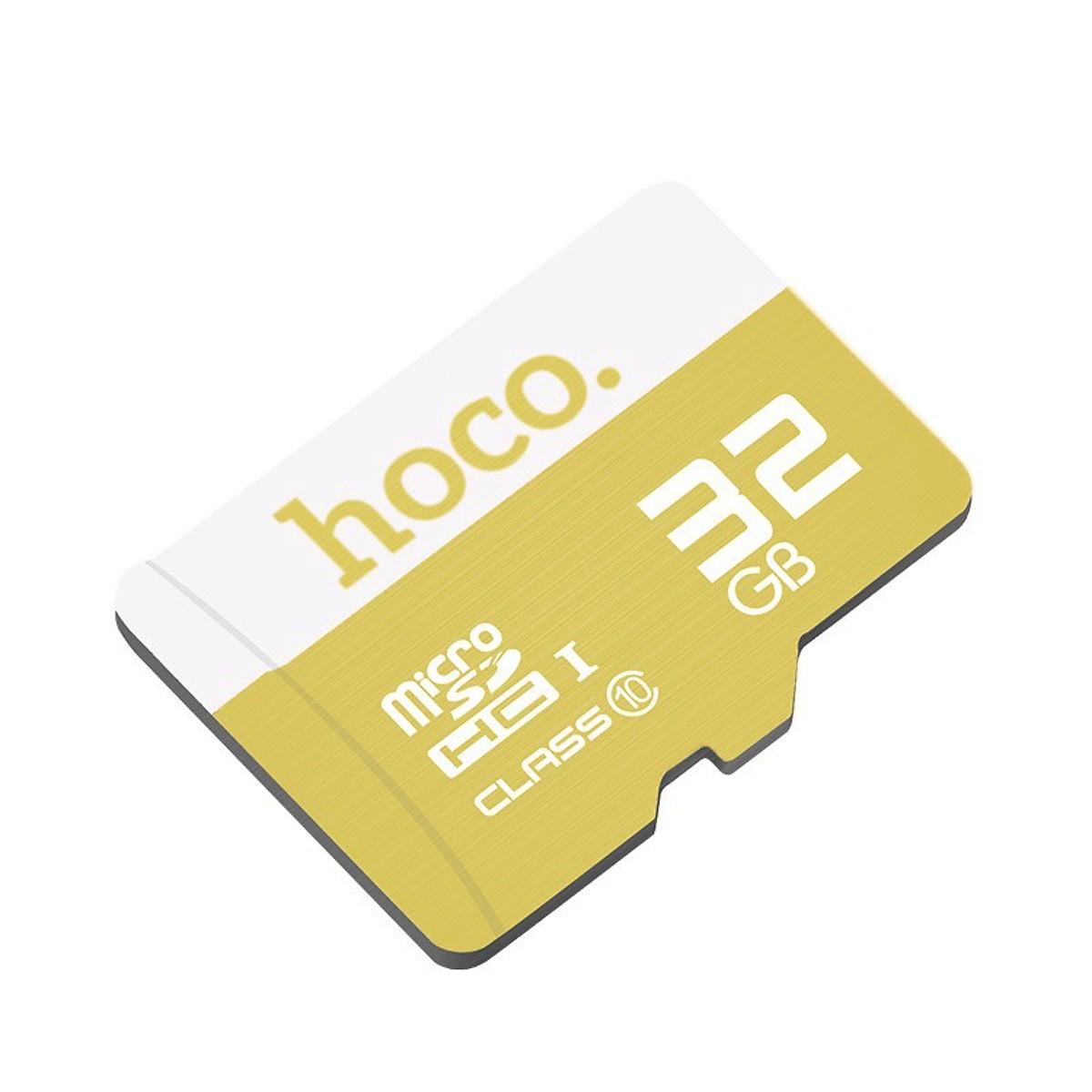 Hoco   Thẻ nhớ   TF Thẻ nhớ Hoco tốc độ cao micro - SDHC Card Class 10 32Gb (90MB / giây) - Hàng chí
