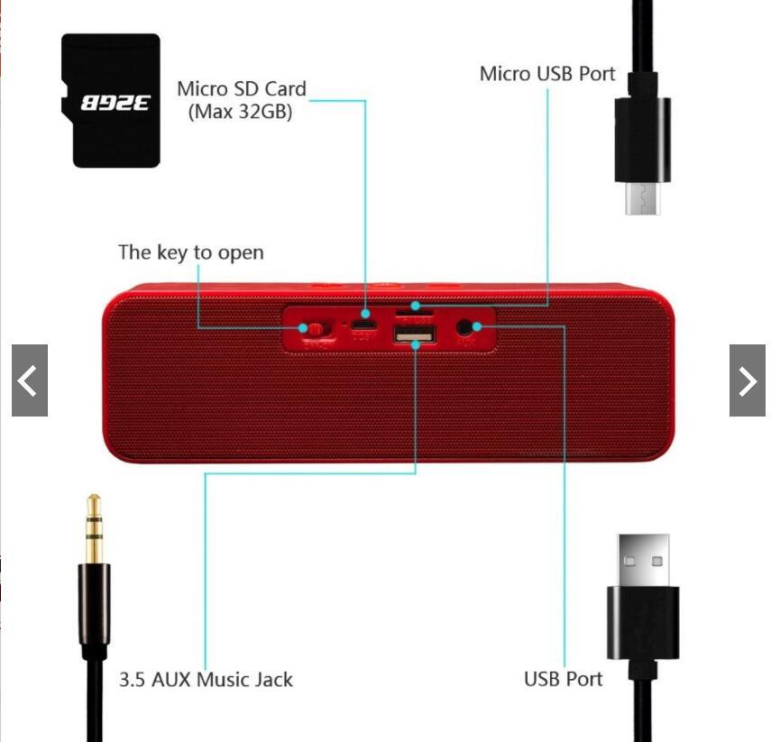 Loa Bluetooth Cao Cấp HopeStar H13 - Âm Thanh Cực Hay