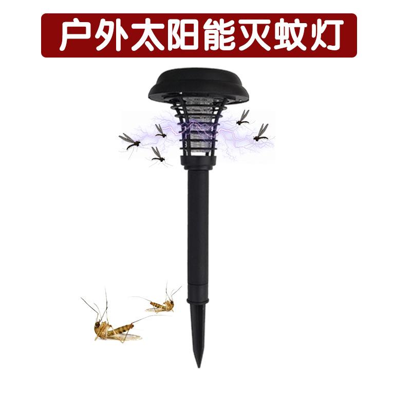 Đèn diệt muỗi sử dụng năng lượng mặt trời cho sân vườn .