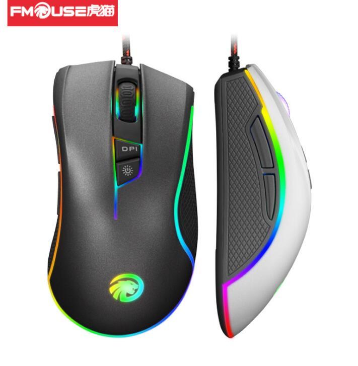 FMOUSE - Chuột vi tính USB cáp Quang thi đấu game