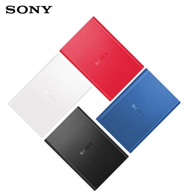 SONY Ổ cứng di động Sony/ Sony ổ cứng di động 1T HD-B1 USB3.0 tương thích 1TB Mac thể mã hóa ổ cứng