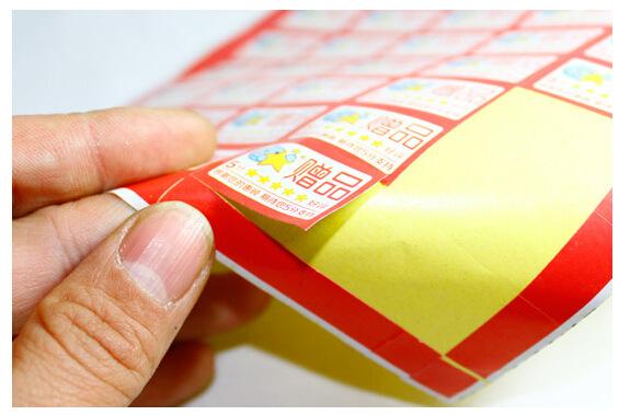 SHANGWU Decal tem mạc Nhãn điểm quà tặng thẻ quà tặng 5 điểm năm sao khen dán dán giao hàng