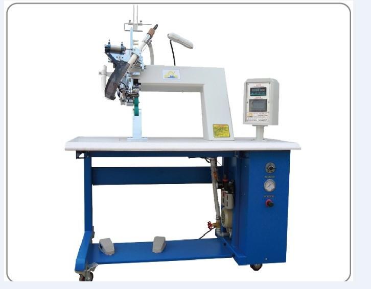 Máy may công nghiệp Đai cắt tự động với máy hàn kín khí nóng, thiết kế siêu mỏng