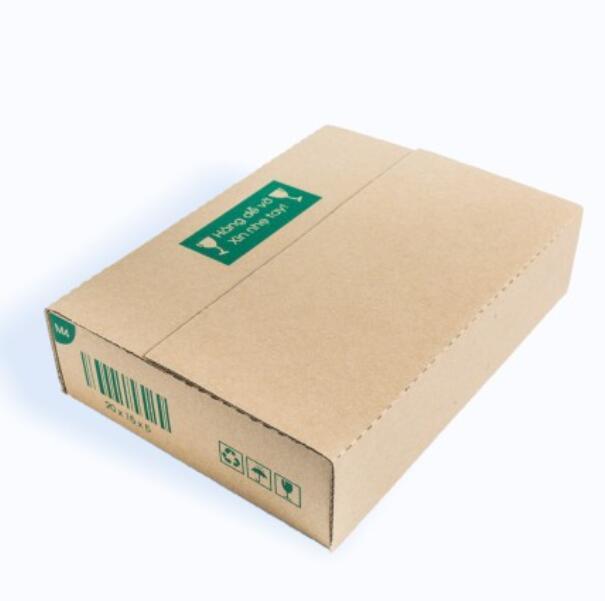 Thùng giấy M4 - 20x15x5 Cm - 25 Thùng Hộp Carton