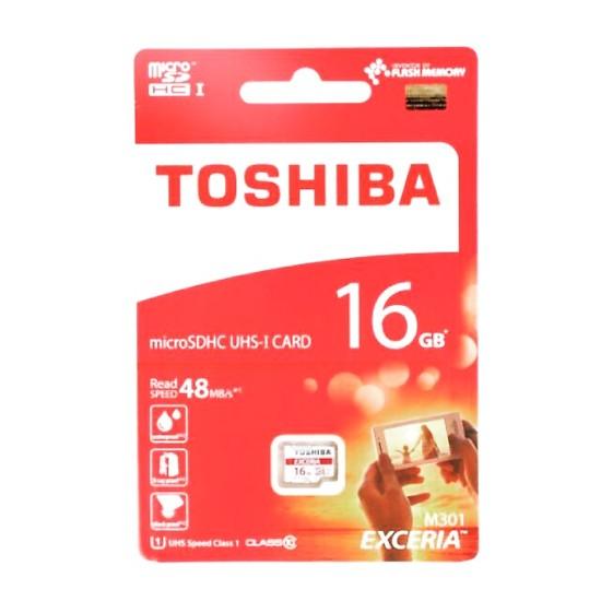Toshiba    Thẻ nhớ    Thẻ nhớ MicroSD Toshiba FPT 16GB Class10 - Hàng chính hãng (FPT)