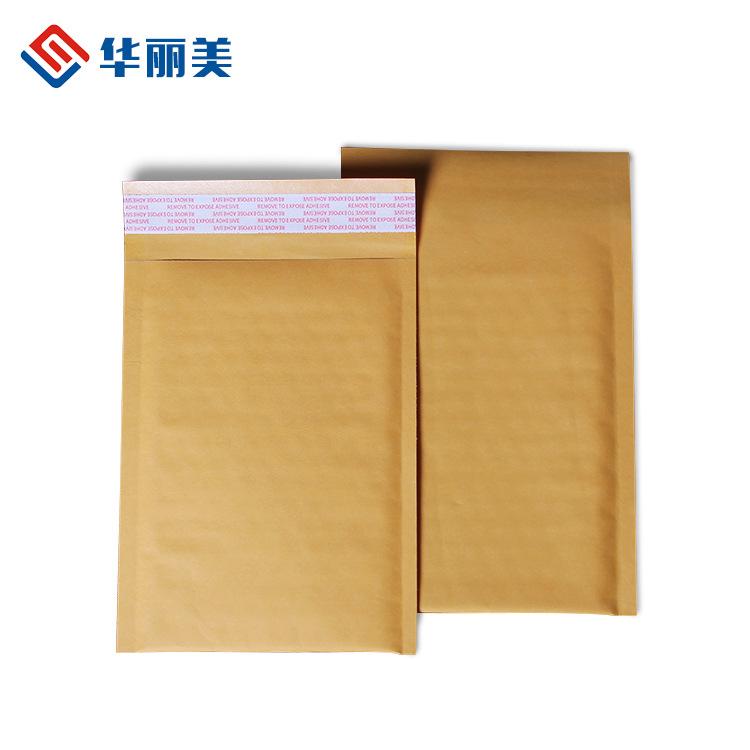 HUALIMEI Túi xốp hộp Nhà sản xuất bán buôn giấy kraft túi phong bì màu vàng mới vật liệu chống sốc b