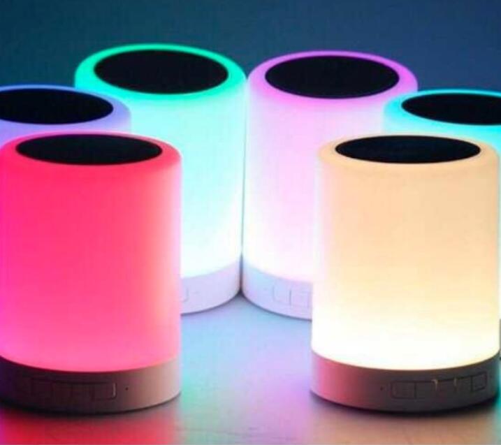 Loa Bluetooth Y02 Cảm Ứng Đổi Màu. - Hàng Đẹp.
