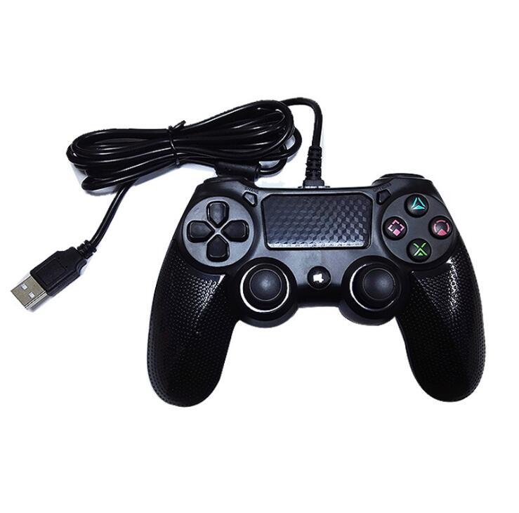 GOTOGETHER Tay cầm chơi game PS4 tư khuôn tay cầm PS4 chạm vào màn hình trò chơi cầm đôi cáp rung cả