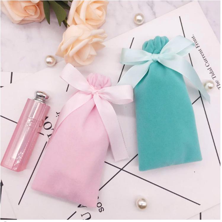 Túi đựng trang sức Bán chạy nhất băng nhung túi trang sức túi son môi lưu trữ túi trang sức trang sứ