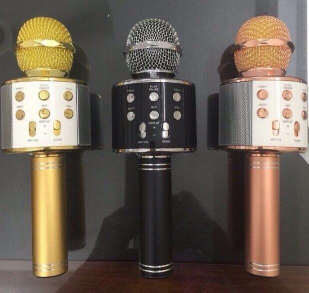 Micro Karaoke 3 In 1 Đa Chức Năng WS858