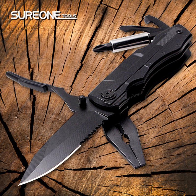 Bộ kềm dao Dụng cụ gấp cầm tay đa năng .