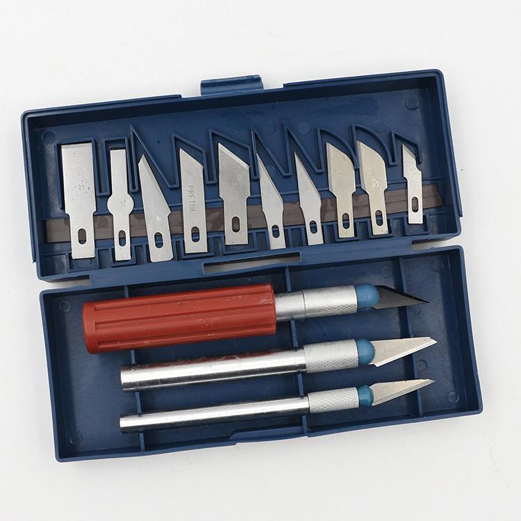 Dao điêu khắc Khắc giấy cắt dụng cụ cắt giấy tiện ích dao khắc dao đặt dao khắc phim nghệ thuật khắc
