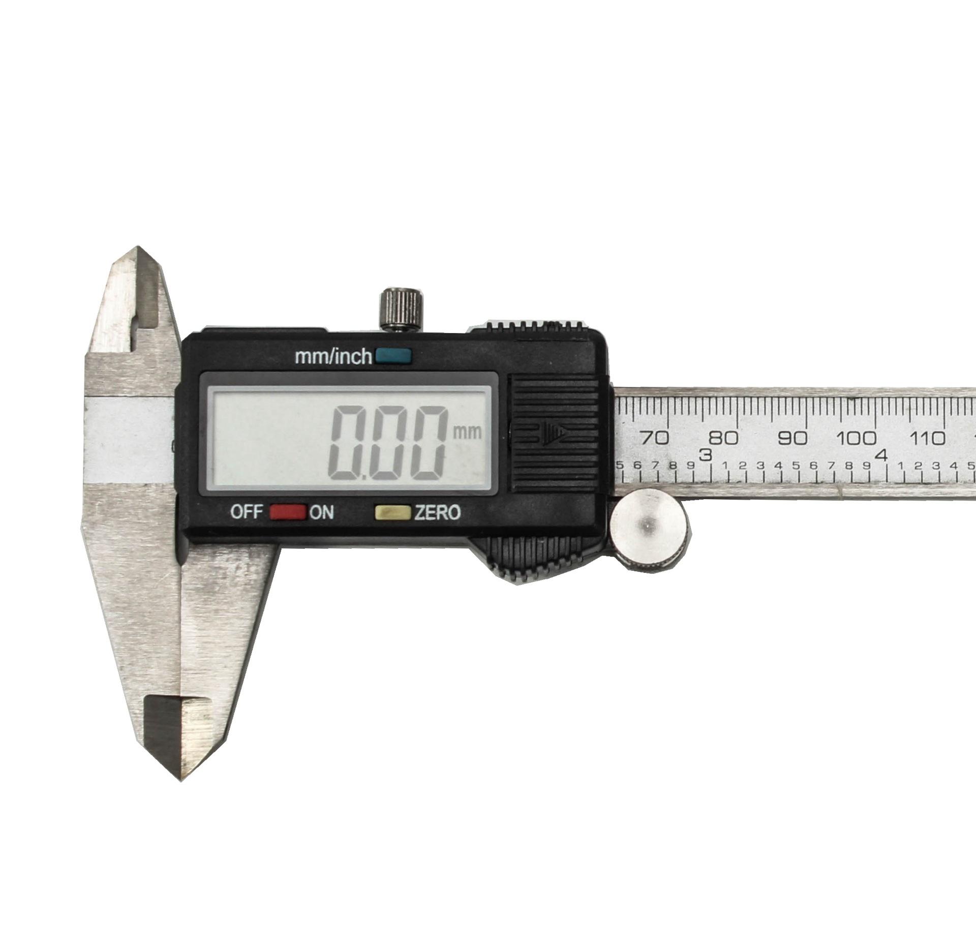 RONGGONG Dụng cụ đo lường Caliper điện tử kỹ thuật số caliper vernier công cụ đo caliper xuất khẩu h