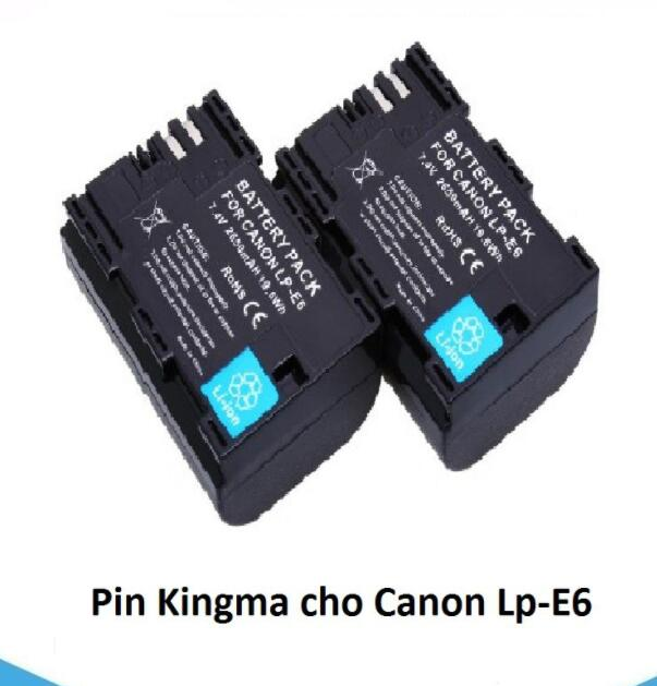 Pin Kingma Cho Canon LP-E6