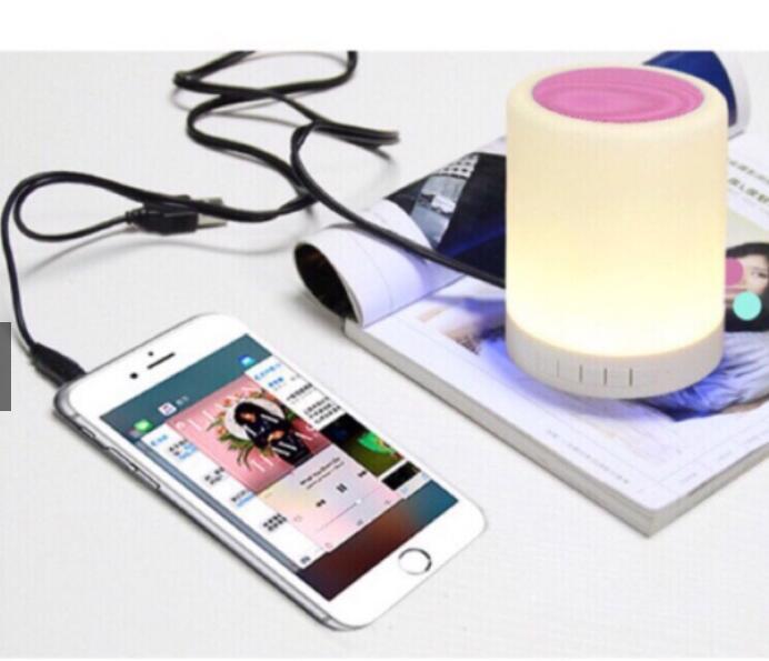 Loa Bluetooth Đổi Màu Y02 - Sắc Sảo Và Tinh Tế Theo Phong Cách Đơn Giản