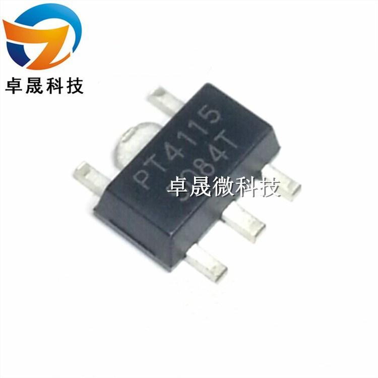 Bộ chuyển nguồn IC PT4115 PT4115B89E-B Trình điều khiển IC / Buck Chuyển đổi / Trình điều khiển liên