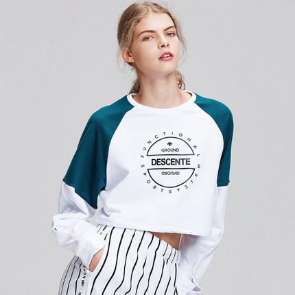 Áo Nỉ Trùm Đầu kiểu phong cách Thể Thao cho Nữ - Hiệu : DESCENTE
