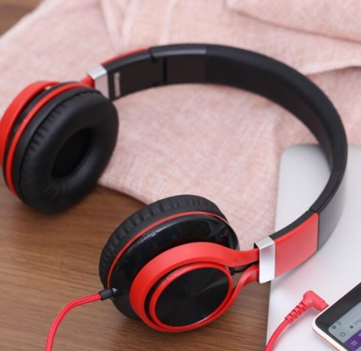 Tai nghe Headphone Kanen IP2050 (Màu Đỏ)