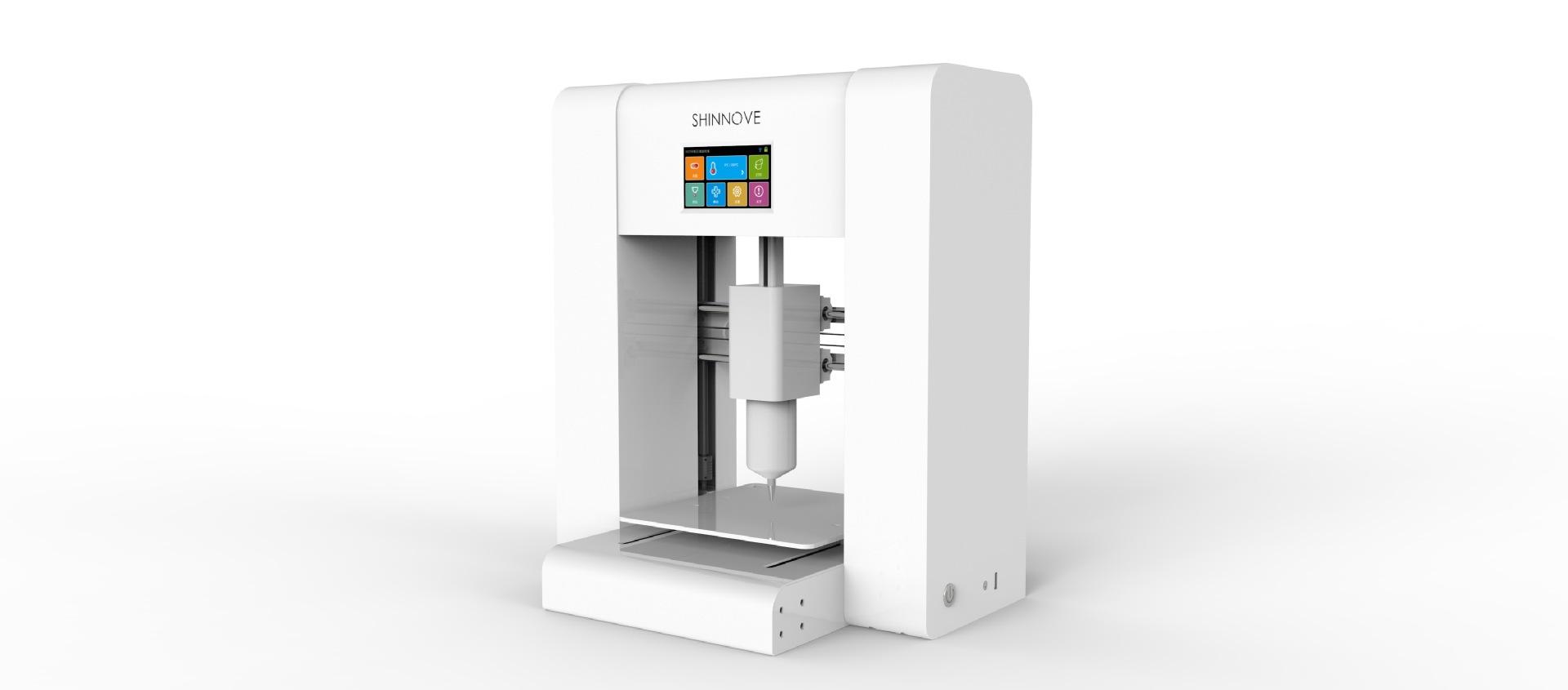 Máy in 3D Máy in sô cô la thực phẩm máy in 3d máy in son môi cho thuê hoạt động trung tâm ăn được