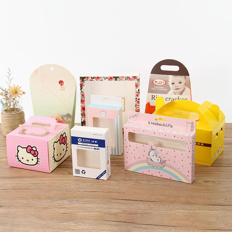 ZEYA Hộp giấy bao bì Ngăn kéo mỹ phẩm sản phẩm y tế carton tùy chỉnh gấp thuốc đóng gói thực phẩm hộ