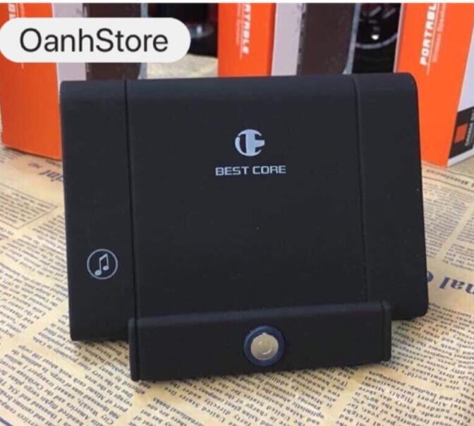 Loa Bluetooth Kiêm Giá Đỡ Điện Thoại BC318- Kiểu Dáng Nhỏ Gọn