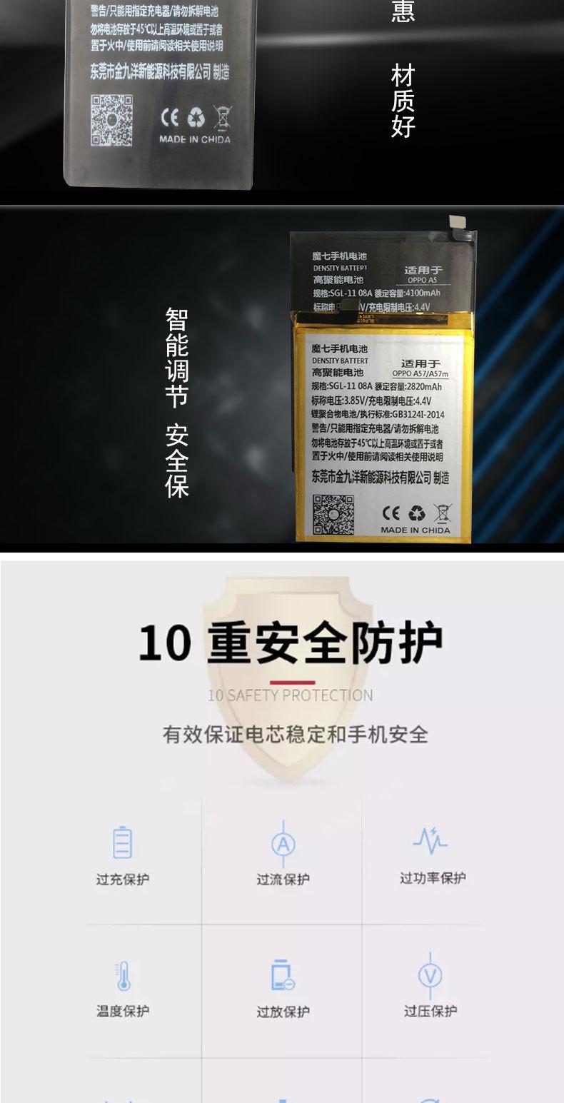Pin điện thoại Áp dụng pin oppo R9