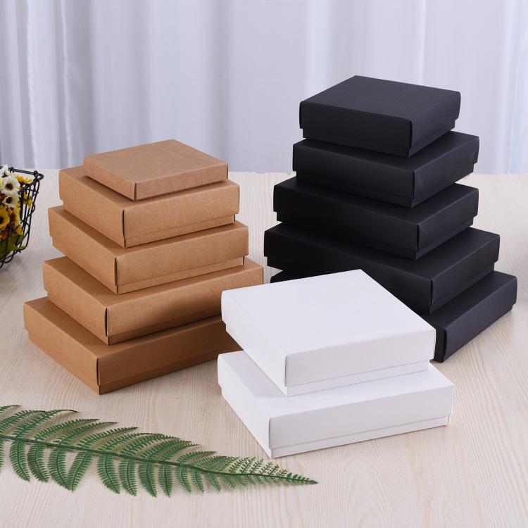 FEILE hộp giấy âm dương Nhà sản xuất tùy chỉnh giấy kraft hộp thực phẩm đồ lót vớ hộp Tiandi bìa thẻ
