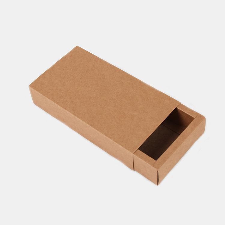 ZHENGYAO Hộp da Hộp mật ong giấy kraft ngăn kéo hộp trà hộp điểm bán buôn hộp giấy kraft