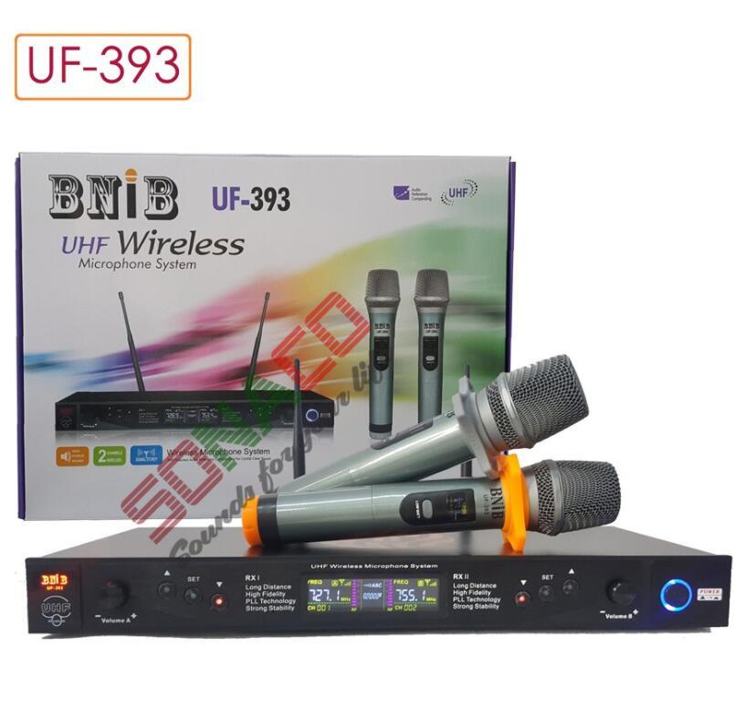 MICRO KARAOKE UHF KHÔNG DÂY CAO CẤP BNIB UF393