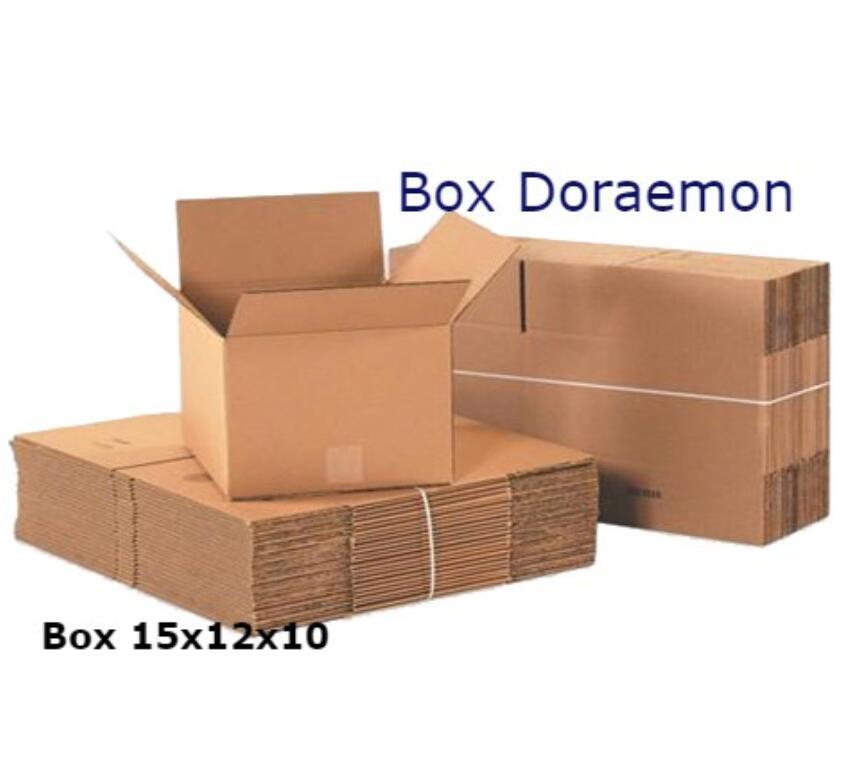 Thùng giấy Bộ 40 Hộp Carton 15x12x10