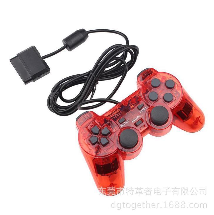 GOTOGETHER Tay cầm chơi game PS2 rung động trong suốt trò chơi. Trò chơi có tay cầm đôi tay cầm được