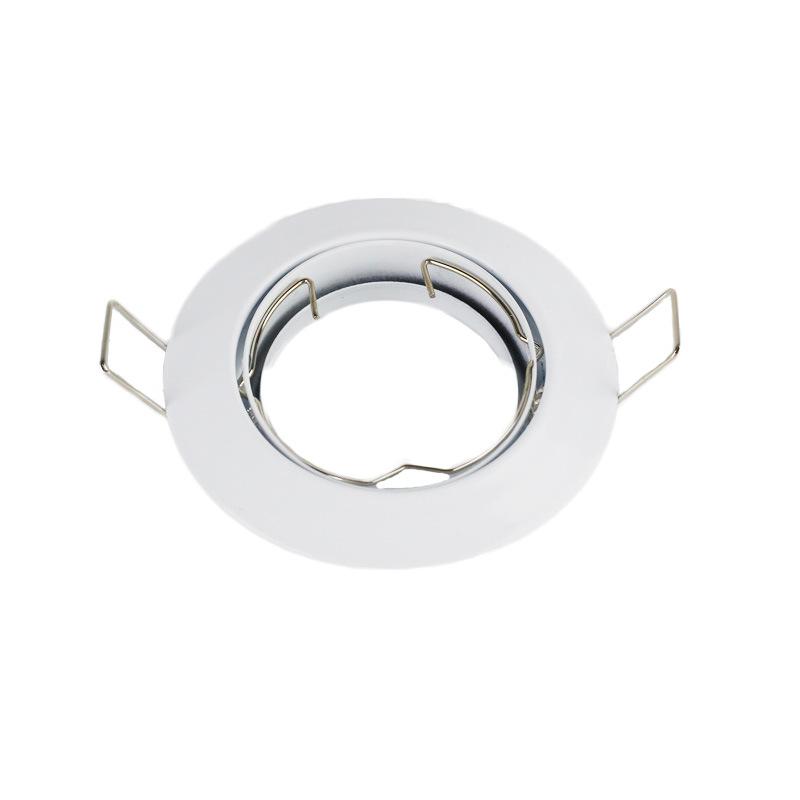 JINCHENG vỏ chụp đèn trần Nhà máy trực tiếp kim loại đèn nền nhỏ vỏ đèn đường 101 vỏ trần sắt led vỏ