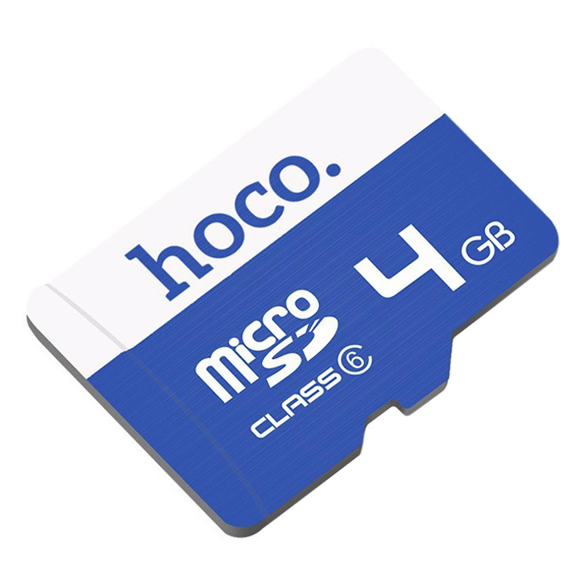 Hoco - Thẻ nhớ  TF Tốc Độ Cao Micro SD 4GB - Hàng Chính Hãng