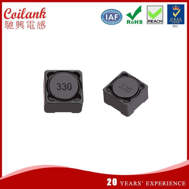 Coilank Cuộn cảm Cuộn dây điện cuộn dây che chắn CDH127 68uH Cuộn dây cuộn dây được bảo vệ cuộn dây