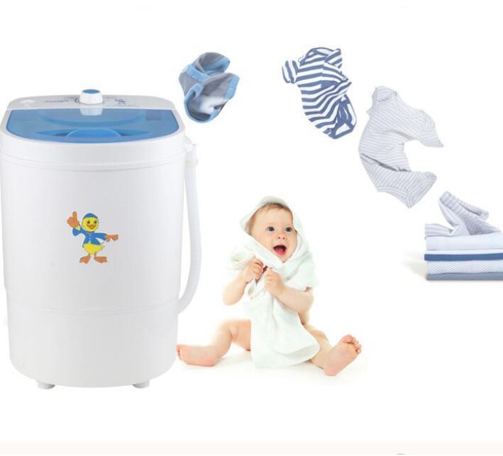 Máy Giặt Mini 1 Lồng 4.5 Kg , Máy Giặt Bán Tự Động ( Trắng ) - The Royal's