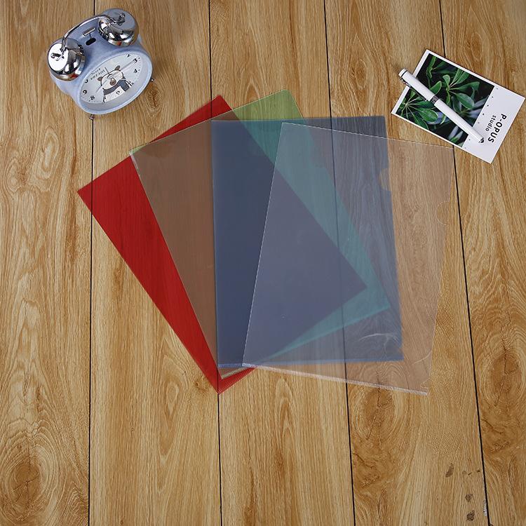 SIYU Đồ dùng tài vụ : túi đựng thông tin bằng nhựa PP trong suốt .