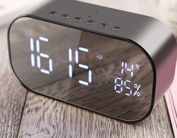 Loa Bluetooth Kiêm Đồng Hồ Báo Thức Yayusi S2 -Dc2101