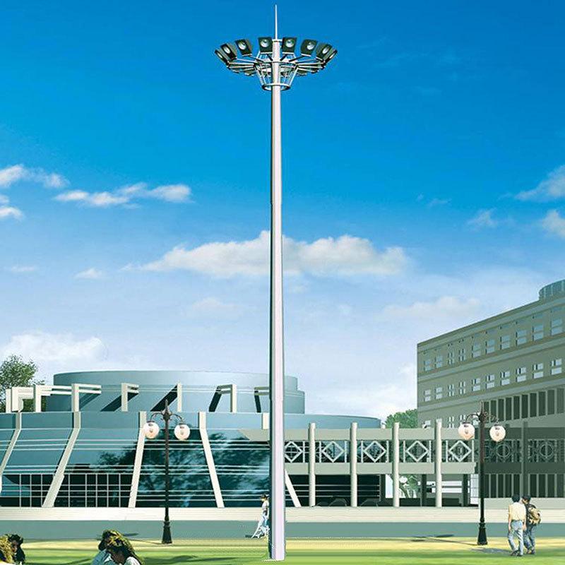 YAOXUAN Đèn LED chiếu sáng sân vận động cực cao 10 mét 12 mét 15 mét 20