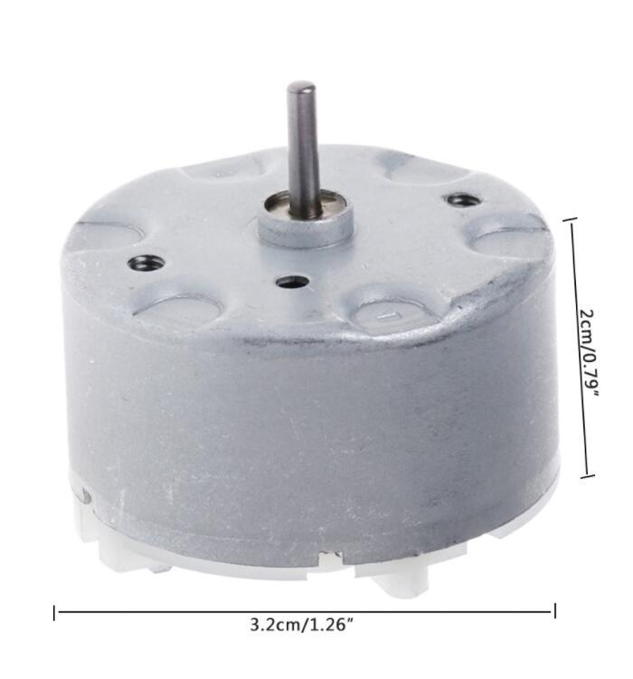 Mô-tơ điện  / Động cơ điện Mô-Tơ Điện Rf-500Tb-14415 6V Cho Hệ Thống Báo Động