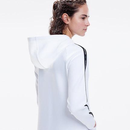 Áo khoác vDisangt DESCENTE Áo khoác dệt kim dài lỏng của nữ Dante D9132ift71
