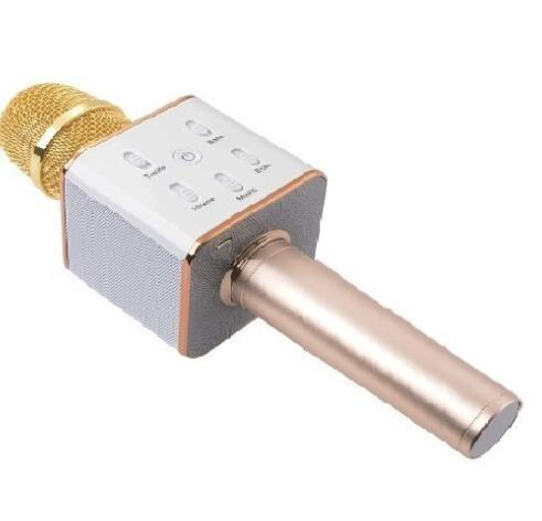 Micro Karaoke Tích Hợp Loa Bluetooth Q7 Tặng Kèm Tai Nghe Onto