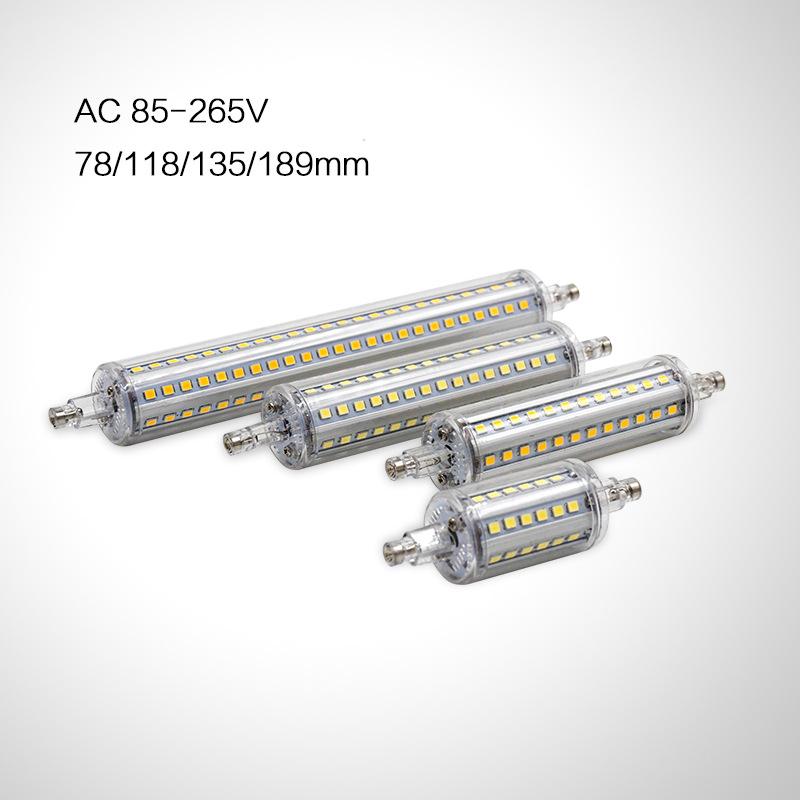 MING&BEN Bóng đèn cắm ngang Bán trực tiếp tại nhà máy R7S Đèn ngô cắm ngang mới 85-265V SMD2835 118m