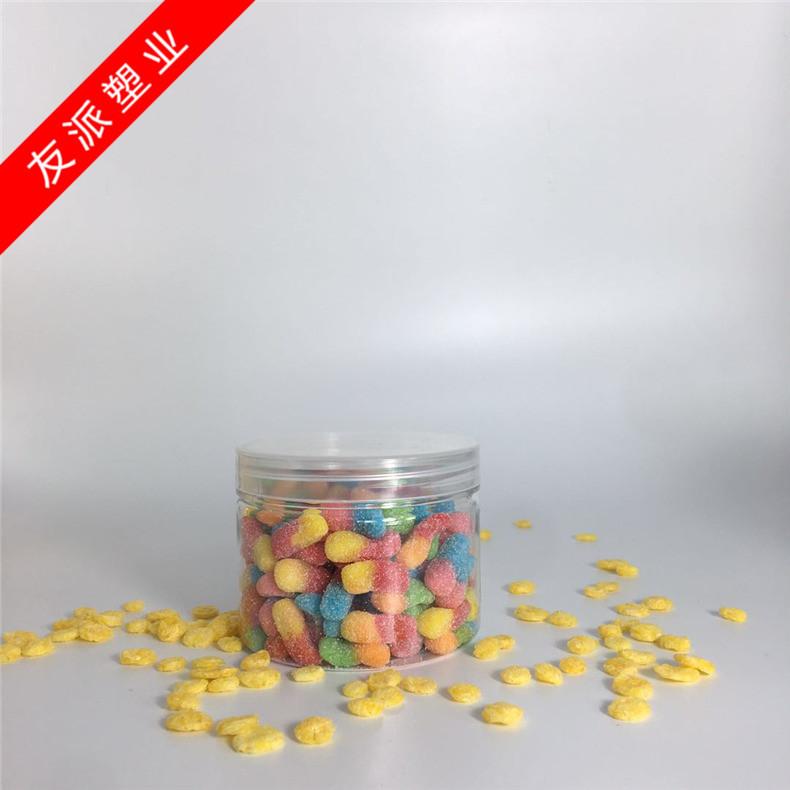YOUPAI Hũ nhựa Nhà sản xuất lon nhựa lon cua cay cay lon thực phẩm miệng rộng Vỏ nhôm nắp kín 85 * 1