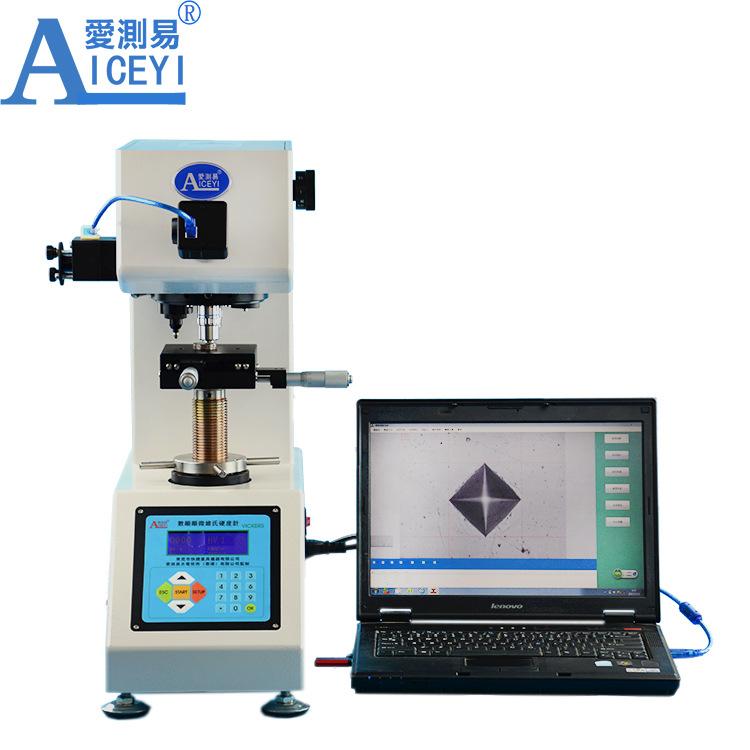 AICEYI Dung cụ quang học Nhà máy trực tiếp hiển thị kỹ thuật số Máy đo độ cứng Vickers Máy kiểm tra