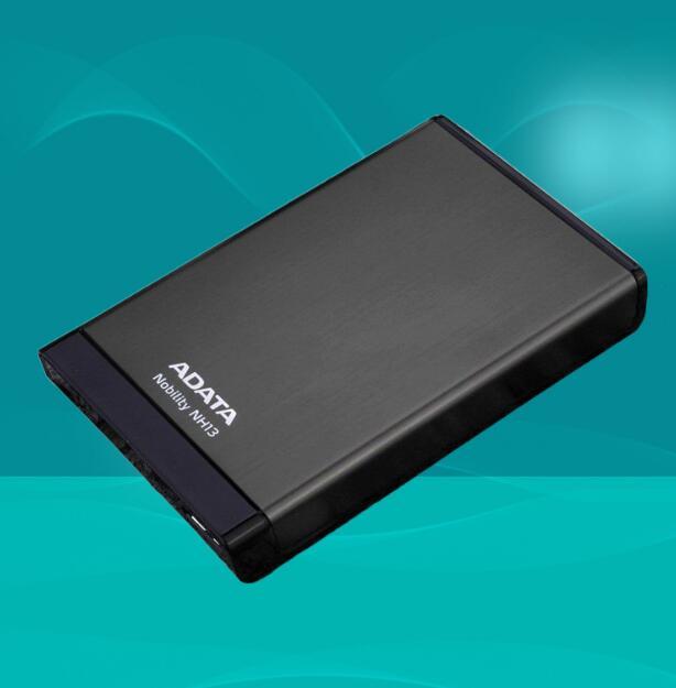 AData Ổ cứng di động ổ cứng di động tốc độ cao NH13 1T 2T USB3.0 toàn kim loại ổ cứng lưu trữ thương